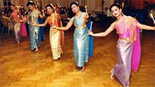 Asian dancers
